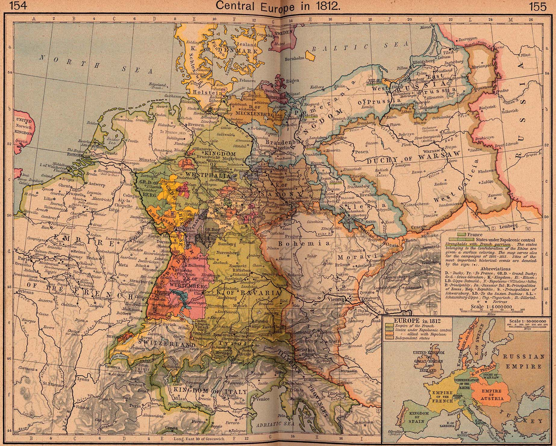 MOCHOLA | Maps of Central Europe (1648-1923)
